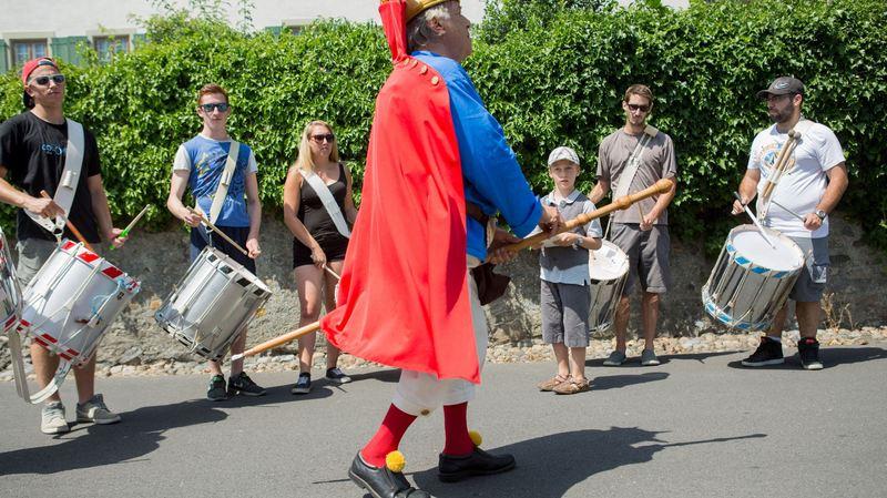 Saint-Prex: le bourg a intronisé son bouffon
