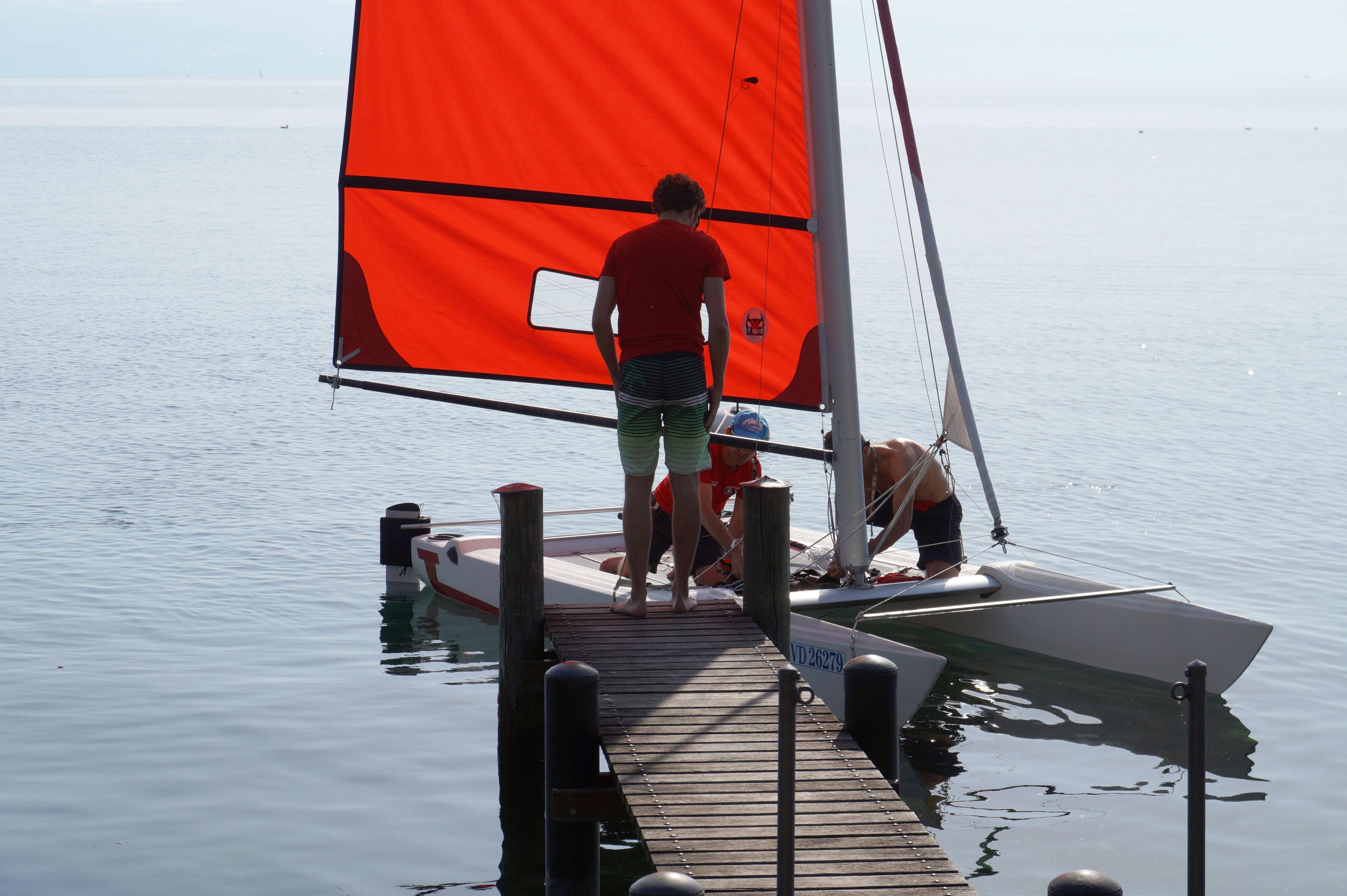 Saint-Prex sur les Quais Initiation sports nautiques Amicale de voile du Coulet 5