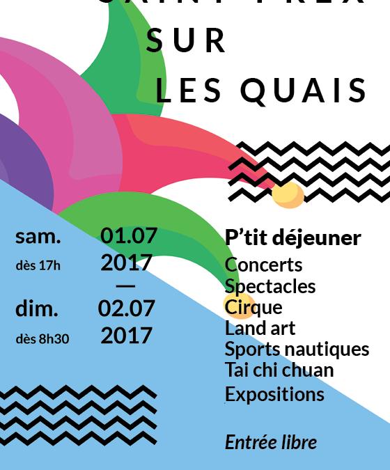Découvrez l'affiche de l'édition 2017 de Saint-Prex sur les Quais
